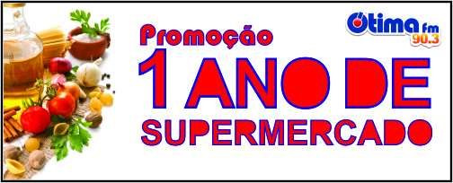 Promoção 1 Ano de Supermercado